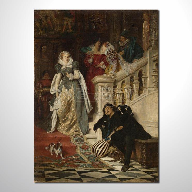 欧式宫廷116 高档宫廷 油画 高品味 装饰品 艺术品 插画 无框画 精品