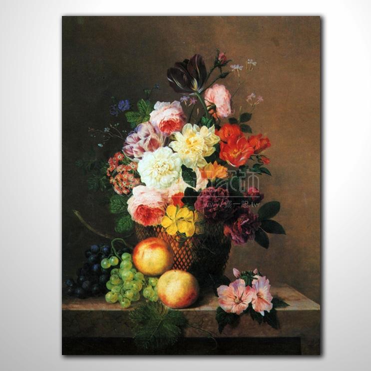 欧式古典花卉28 纯手绘 花卉油画 山水画品 艺术品 作品 画饰 无框画