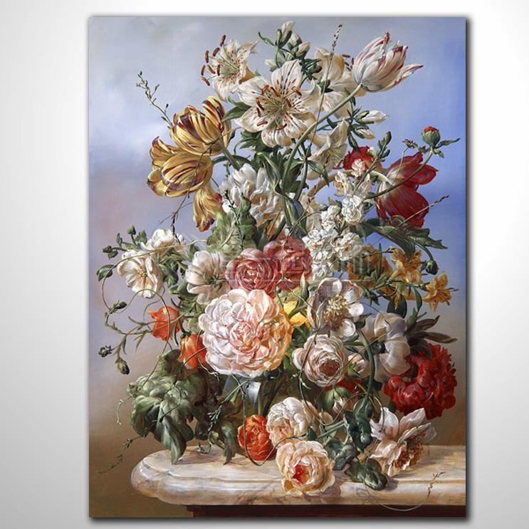 欧式古典花卉41 纯手绘