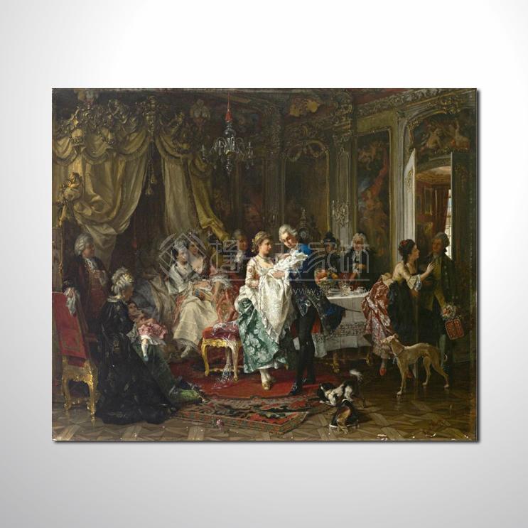 欧式宫廷073 高档宫廷 油画.