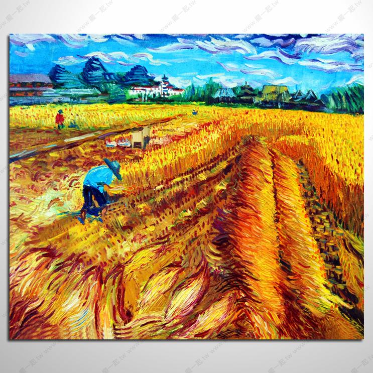 黃金滾滾-五穀豐收油畫_總分類_油畫 畫的專家 擺一起家飾 專營:山水畫 風水畫 牡丹畫 開運畫 裝飾畫 是您買畫最好的選擇!