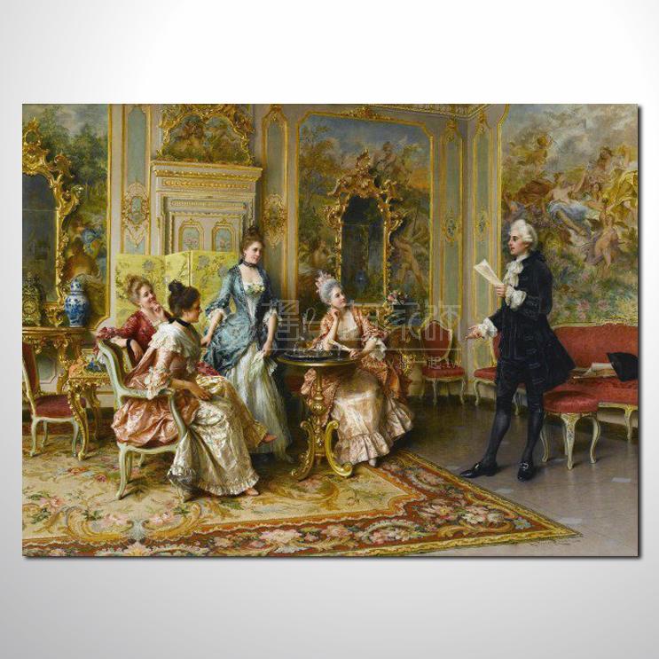 欧式宫廷124 高档宫廷 油画 高品味 装饰品 艺术品 插画 无框画 精品