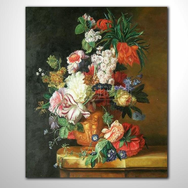 欧式古典花卉23 纯手绘