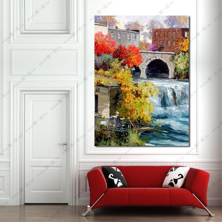 纯手绘 油画 艺术画 装饰 画饰 无框画 民宿 餐厅 装潢 室内设计 居家