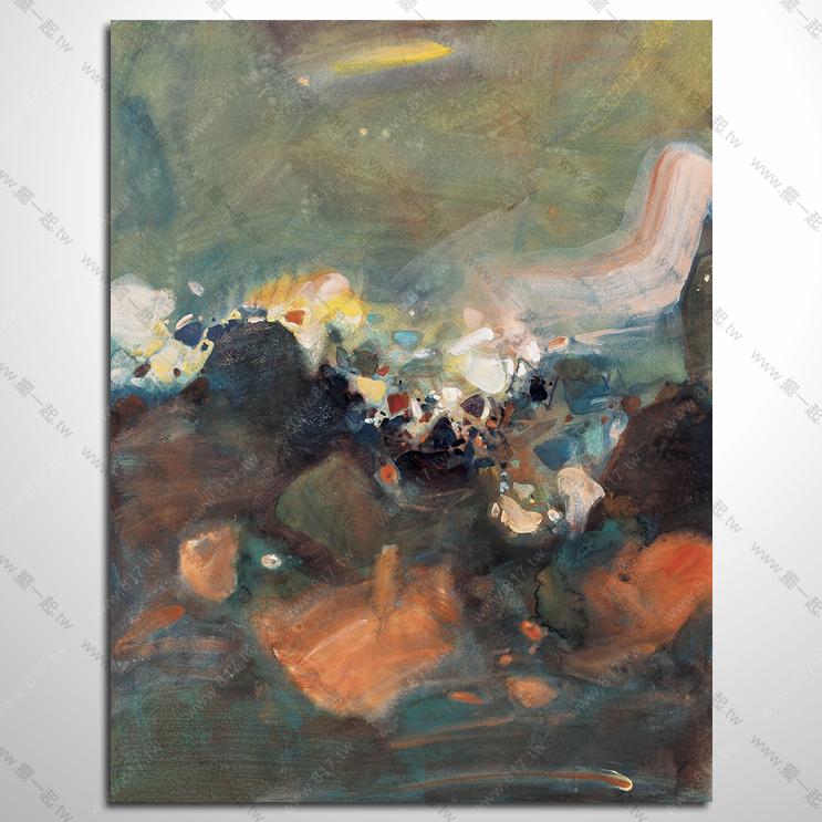 161 抽象艺术大师参考图 专业临摹 色彩流动感 气势磅礴 意境感挂画